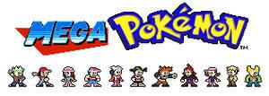 Mega Pokemon: Main chars