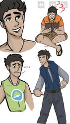 Percy sketches by iSea-Shell