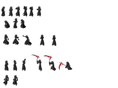 Hooded Man (Sprite Sheet)