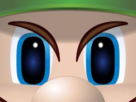Luigi Icon by CRETE