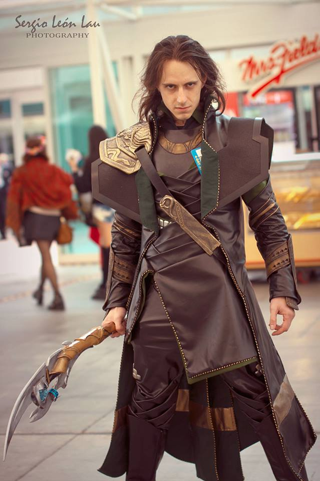SDCC 2013 Tousled Loki by CRETE