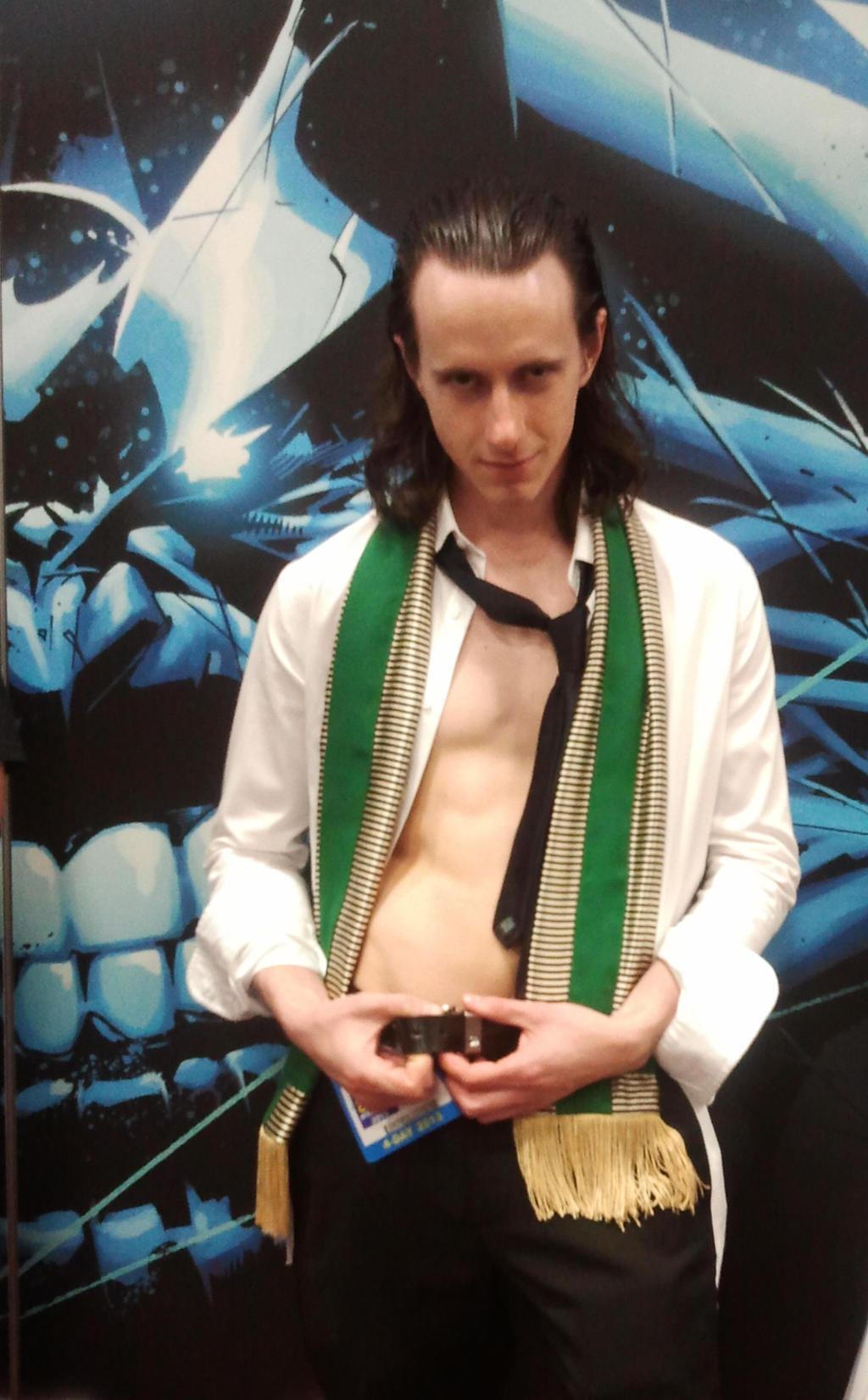 SDCC 2013 Sexy Loki-  U Mad, Thanos? by CRETE