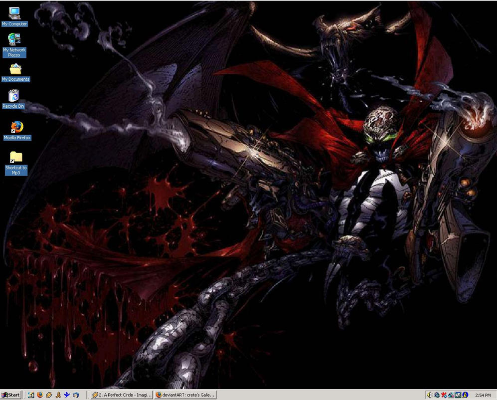 My desktop by CRETE