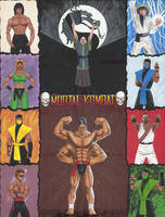 Mortal Kombat p. 2nd version by Edi-The-Mad