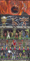 Mortal Kombat Trilogy poster by Edi-The-Mad