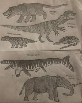 More prehistoric beasts