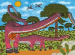 My Dinocember Day 9: Diplodocus carnegii
