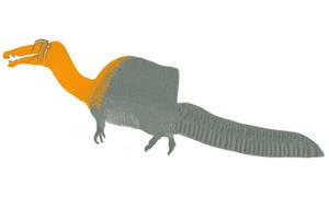 Spinosaurus aegypticus Digital Restoration