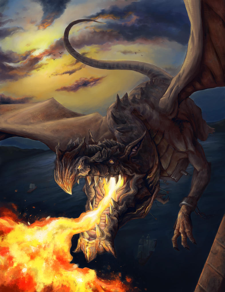 Dragon siege - Outcast Odyssey by Saddast