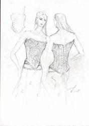 fashion sketches 2003 -3 by FVAD