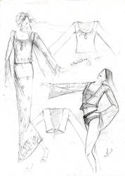 pre project sketches by FVAD