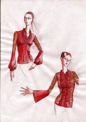 pre project sketches-color by FVAD