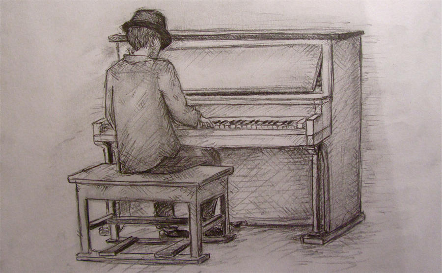 Piano Man, Play Me a Song by Wimzle on DeviantArt