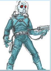 Mr. Freeze Sketch