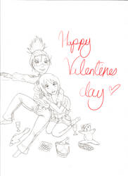 valentines day - unfinis by xomisskittyox