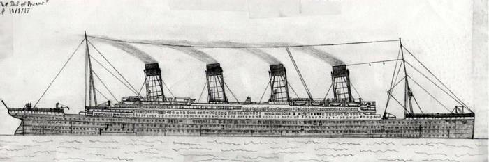 'The Ship of Dreams' D.P 10/8/17 by dplutonium13