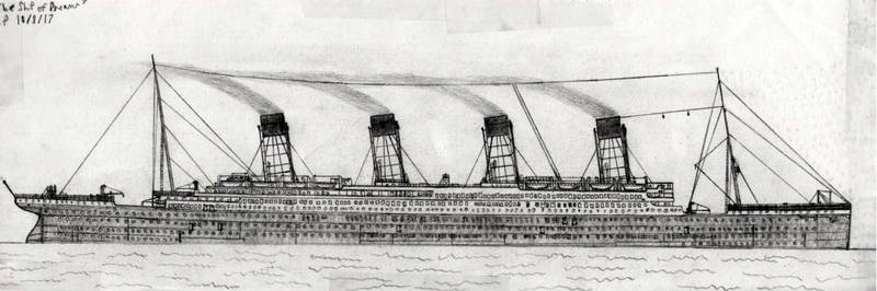 'The Ship of Dreams' D.P 10/8/17