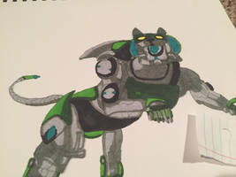 Green lion voltron