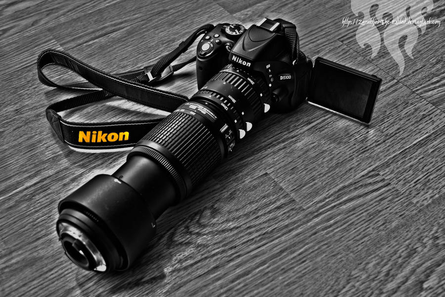 Nikon D5100 by zarathos-the-exiled