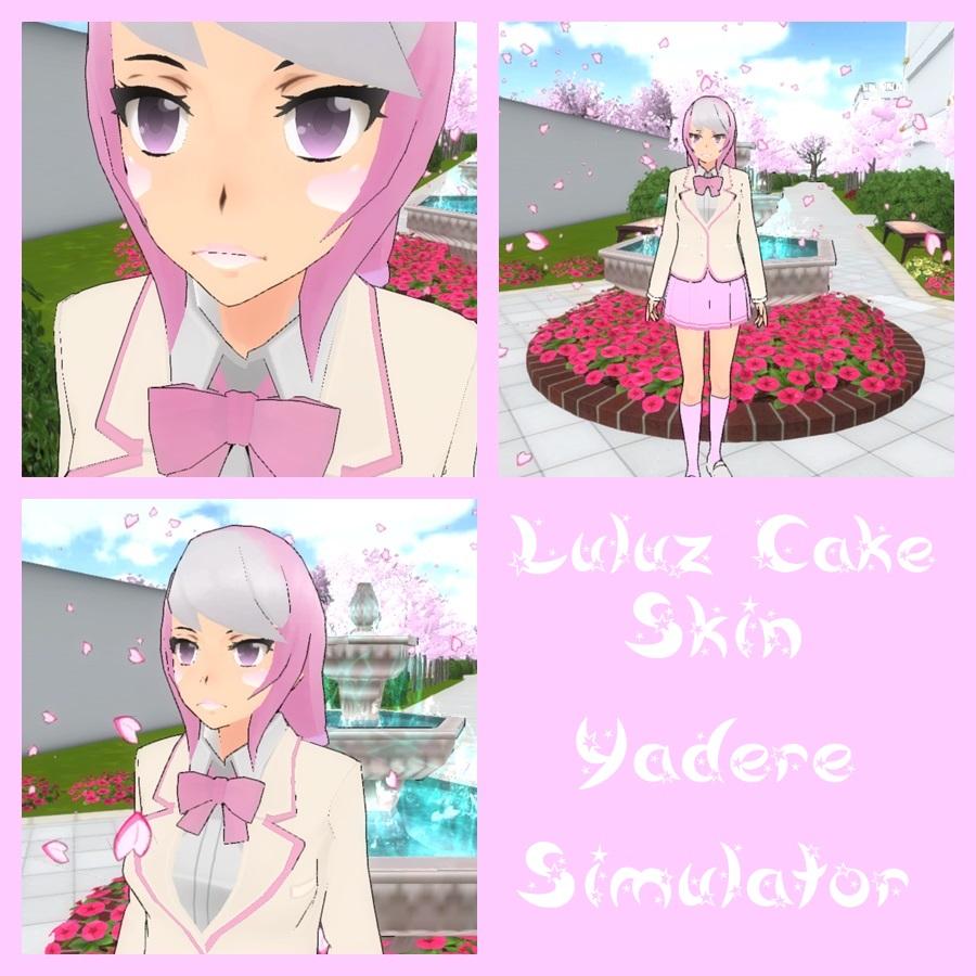 yandere simulator pink skin by luluzcake on deviantart. Black Bedroom Furniture Sets. Home Design Ideas