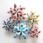 Origami Bascetta Star