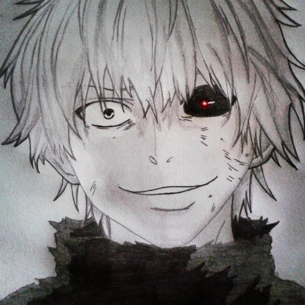Kaneki Ghoul By Onewolfy On DeviantArt