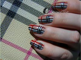 Burberry Nails by Jesi00