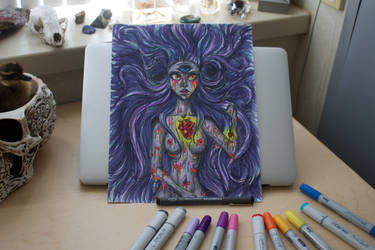Lady of Soul and Spirit by AwkwardnessAnonymous