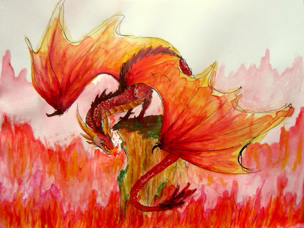 I See Fire by MuniaElena