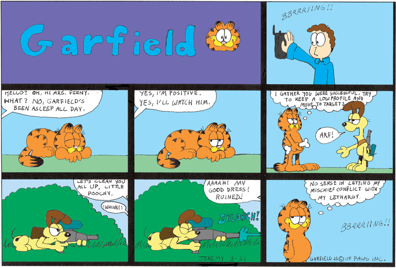 Garfield And Odie Clip Art | Beautiful Scenery Photography