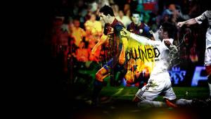 Messi  vs cristiano Wallpaper