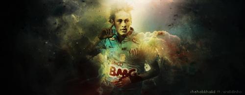 Neymar santos by WALIDINHOOO