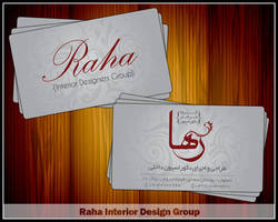 Raha Visit Card by sarakhanoom