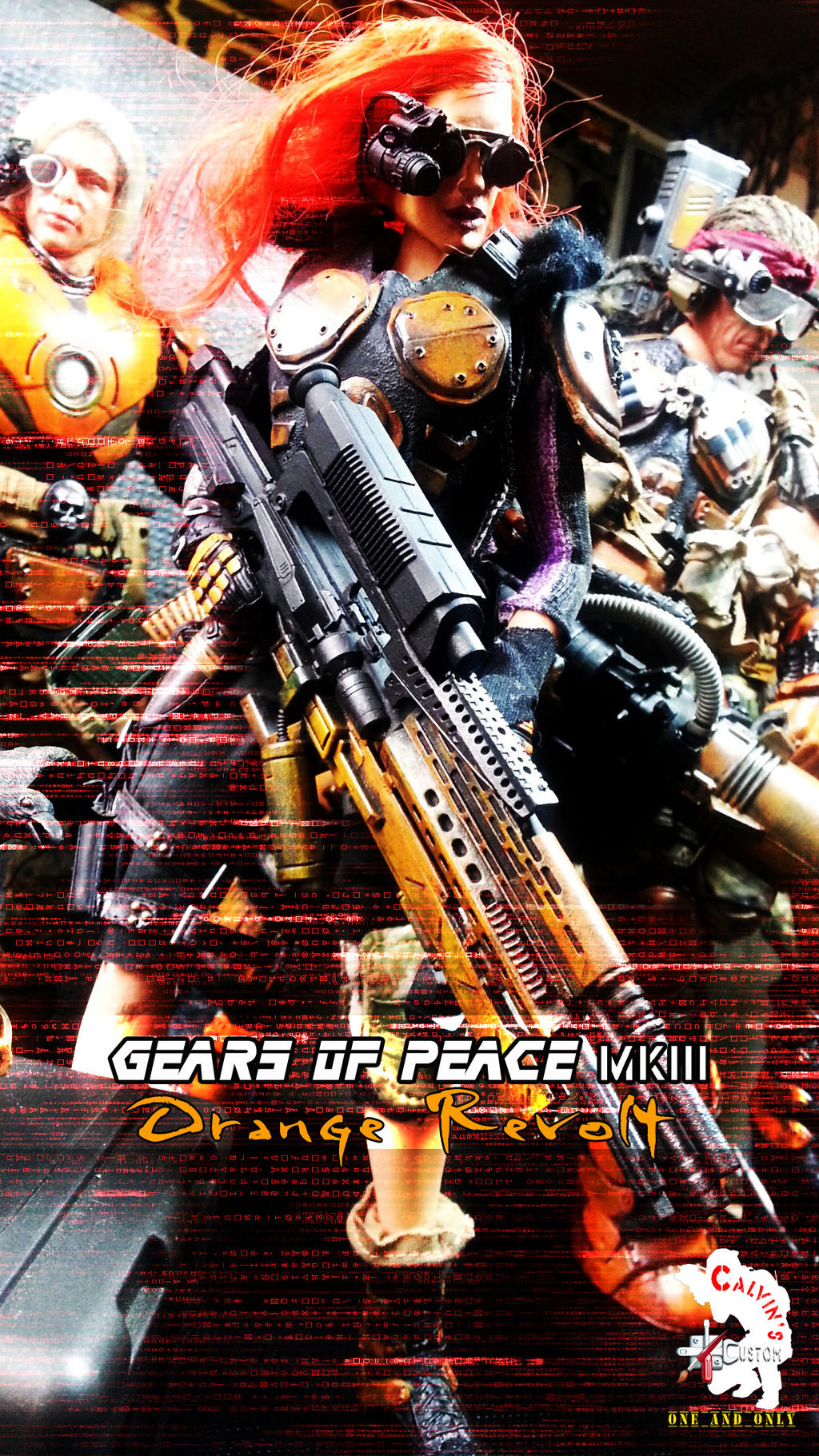 GEARS of PEACE MK III ~ Orange Revolt by CalvinsCustom