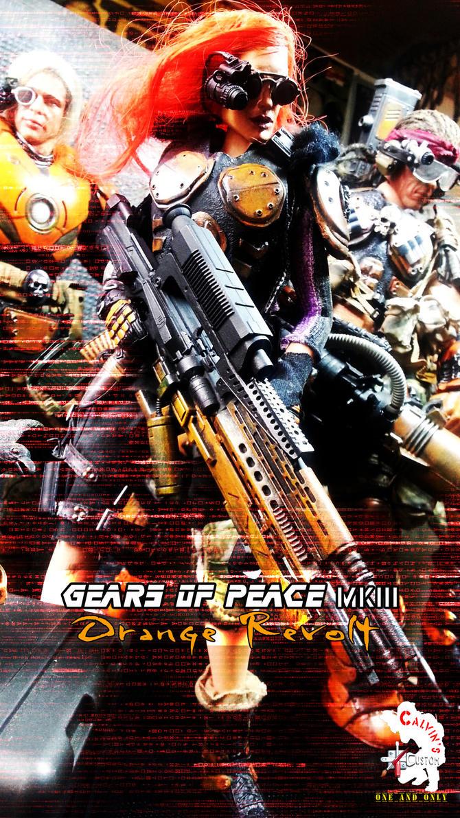 GEARS of PEACE MK III ~ Orange Revolt by CalvinsCustom