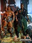 Conan the Destroyer and John Matrix