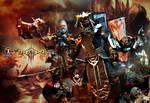 Diablo 3 Monk, Barbarian and Crusader