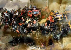 Calvin's Custom 1:18 G.I.Joe X Transformers