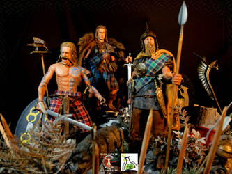 Calvin's Custom Scottish Highlander and Celtic War by CalvinsCustom