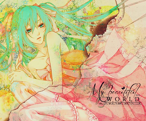 Hatsune Miku by akumaLoveSongs