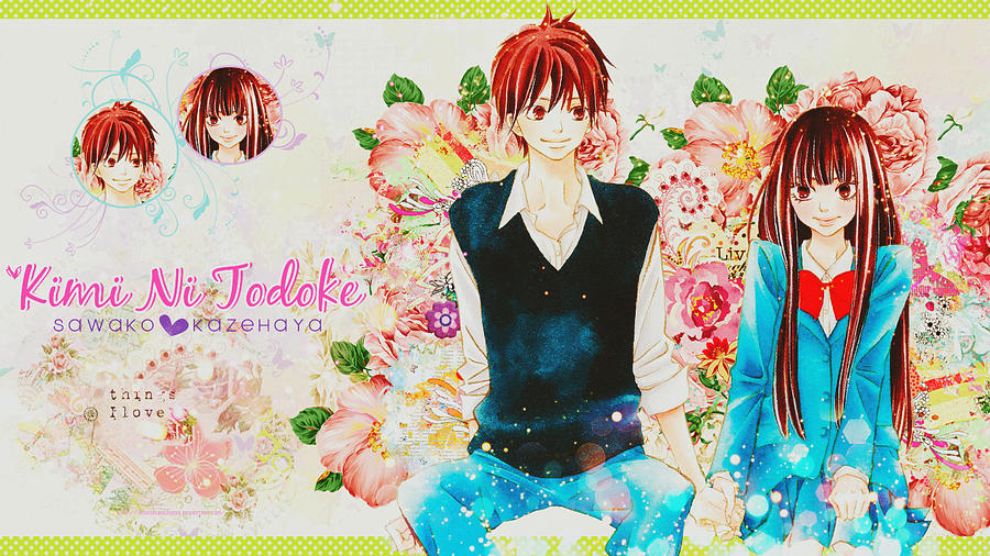 Kimi Ni Todoke wallpaper 2 by akumaLoveSongs
