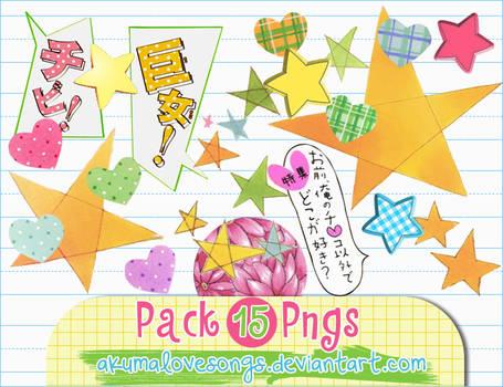 Pack 15 pngs