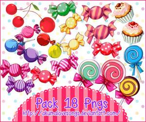 Pack 18 pngs by akumaLoveSongs
