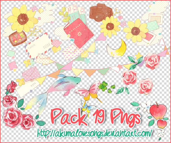 Pack 19 pngs by akumaLoveSongs