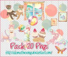 Pack 20 pngs