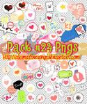 Pack 24 pngs