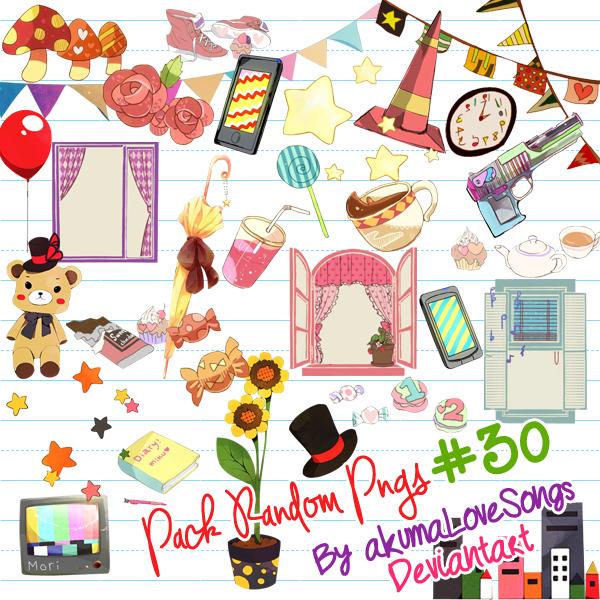 Pack #30 pngs by akumaLoveSongs