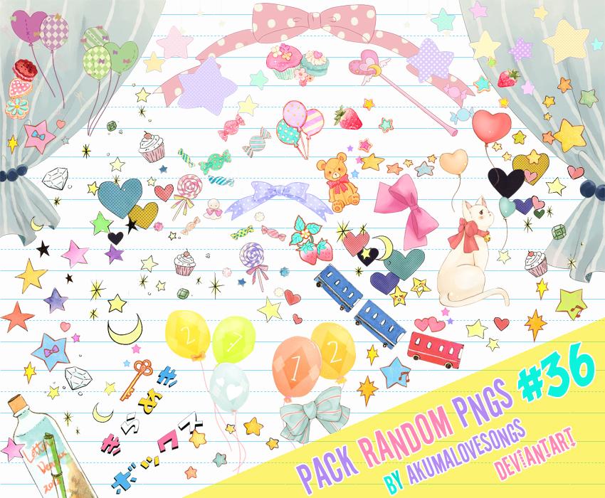 Pack #36 pngs by akumaLoveSongs