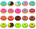 the donuts by sam-ifer