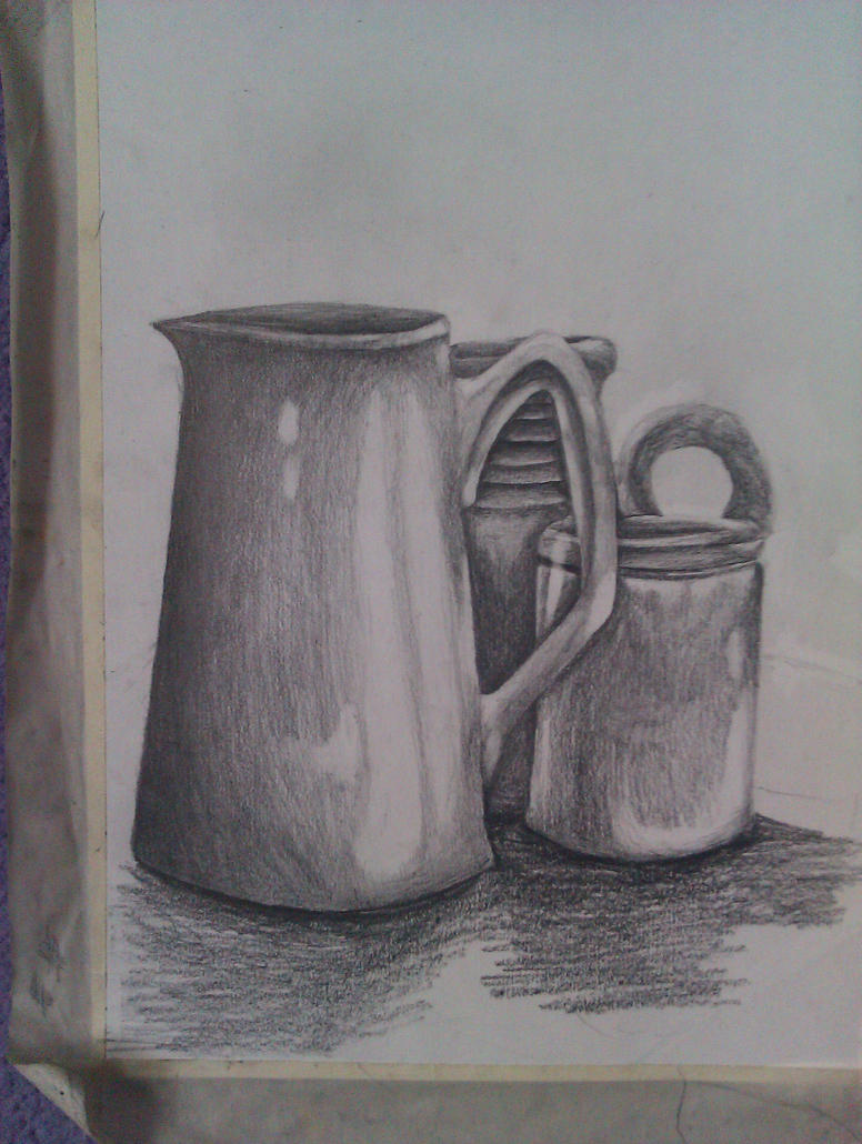 Still Life Detail Drawing